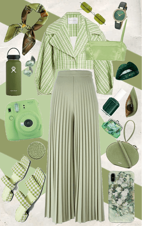 GREEN - monochrome