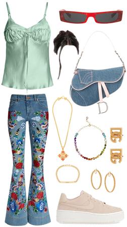 what I'd wear as a model - shopping in LA