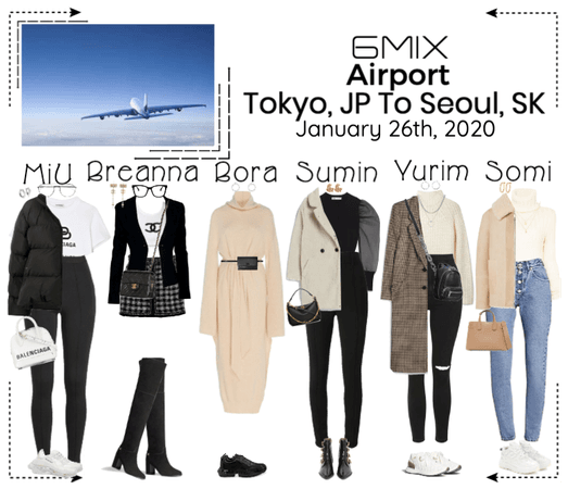 《6mix》Airport | Tokyo, JP To Seoul, SK