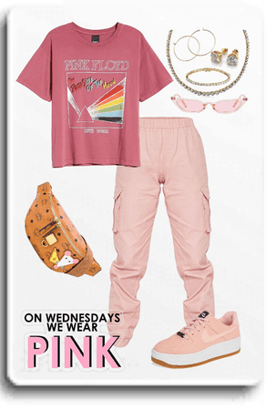 We wear pink. Floyd, that is.