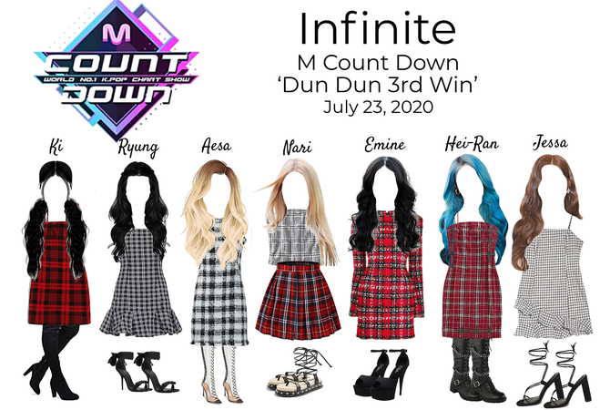 Infinite Dun Dun Stage Outfits