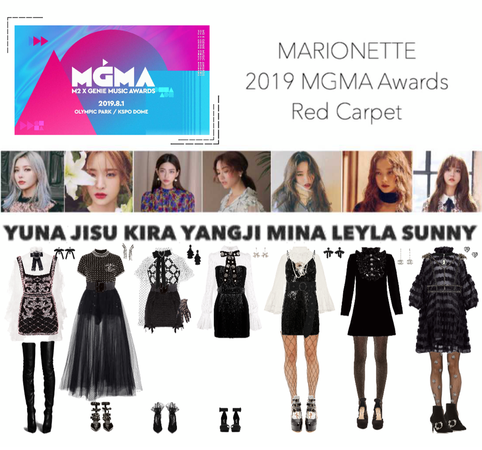 MARIONETTE (마리오네트) MGMA Awards 2019 Red Carpet