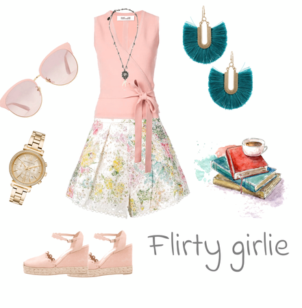 flirty girlie