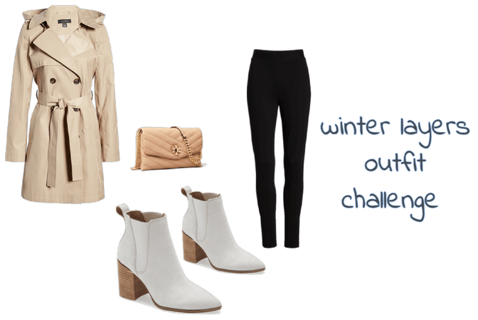Winter Layers Outfit Challenge