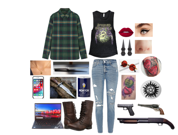 3: Supernatural OC Outfit