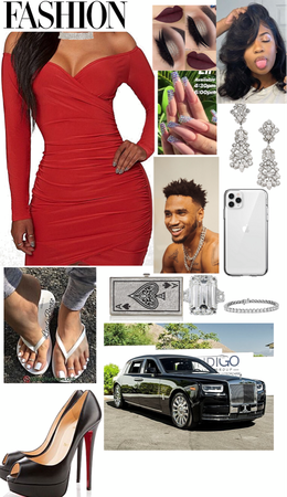 my hubby trey songz take me out to dinner on valentines