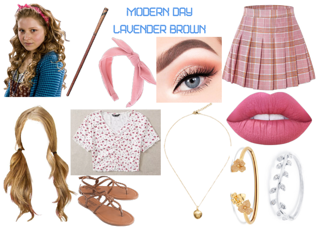 modern day characters twenty-seven: Lavender Brown