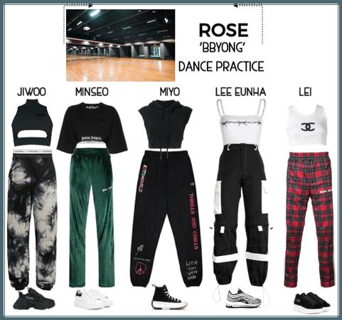 {RoSE} 'BBYONG' Dance Practice