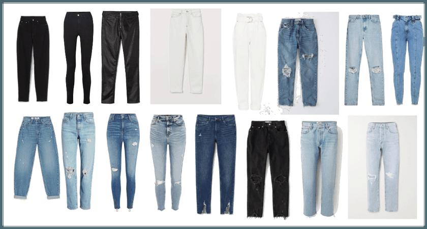 Basics - jeans