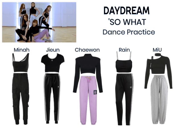 Daydream- 'SO WHAT' dance practice