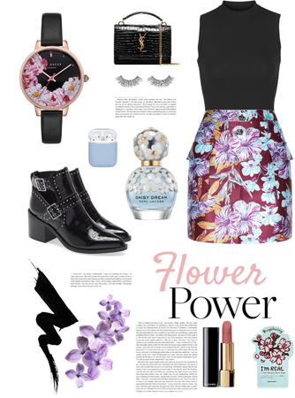 Spring Flower Outfit #1