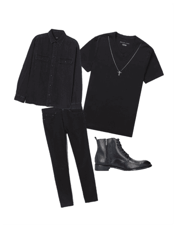 simple mens outfit