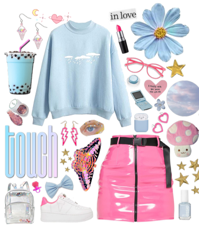 Blue and Pink Pastel