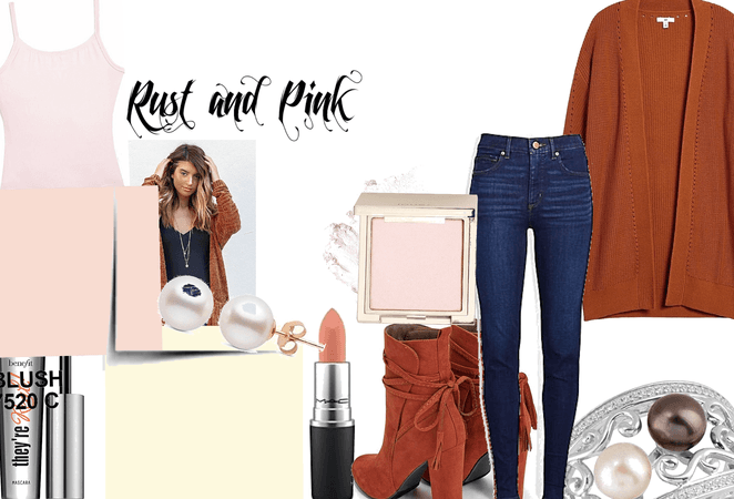rust and pink