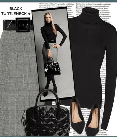 BLACK TURTLENECK 4