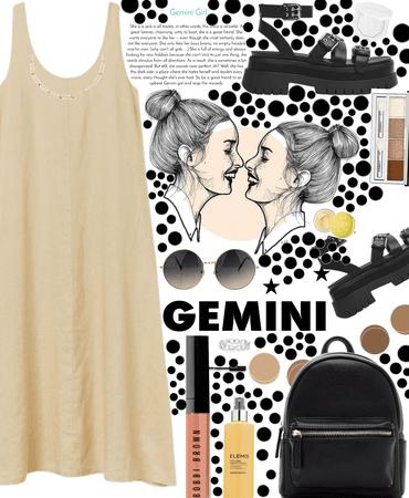 Gemini style 🤍🤍