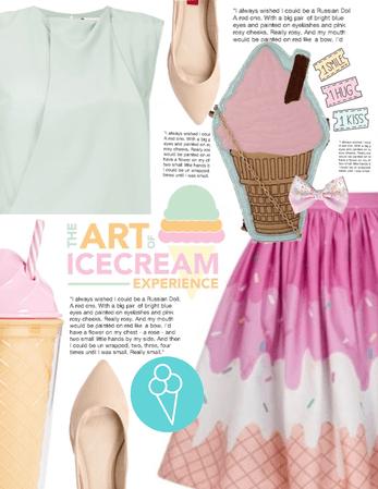 Cotton candy icecream 🍭