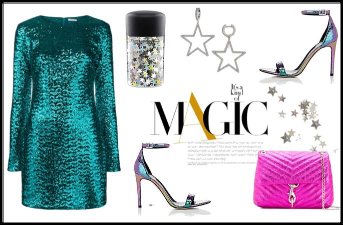 glittery magic