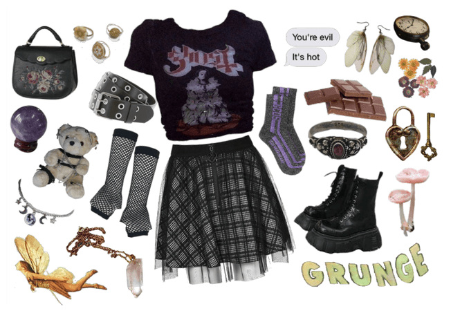 grunge fairy