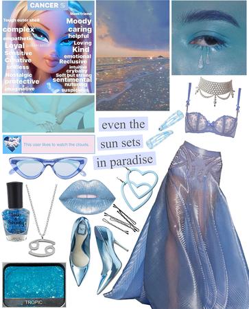 Feeling blue (zodiac sign: cancer)