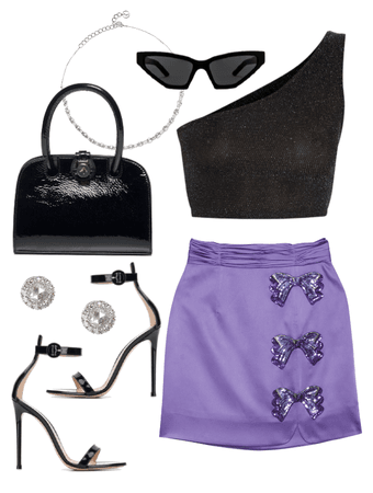 little purple skirt