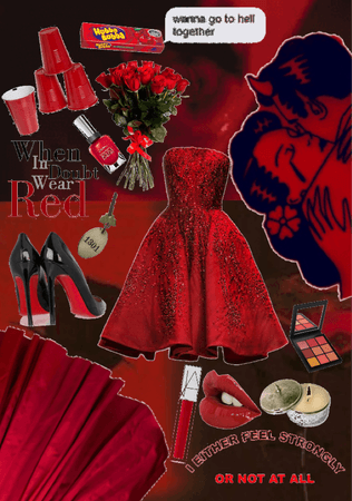 prom red-y