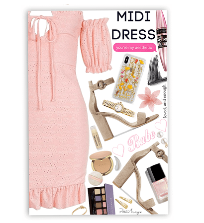 Midi & Pink 💞