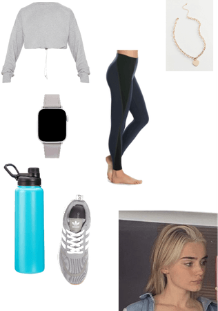 (OC) Allison's gym/ working outfit