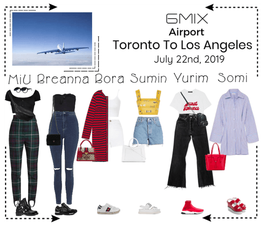 《6mix》Airport | Toronto To Los Angeles