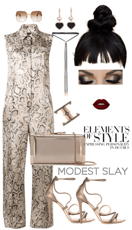 Modest Slay : Modestly Nude