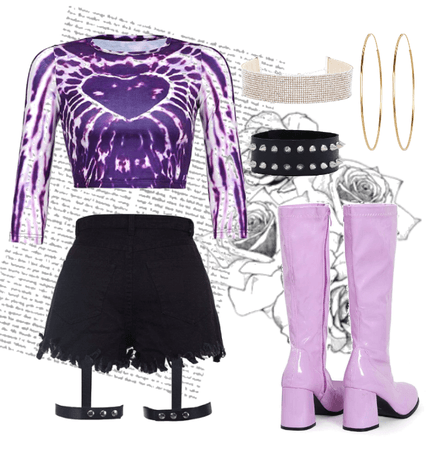 clawdeen wolf inspired outfit