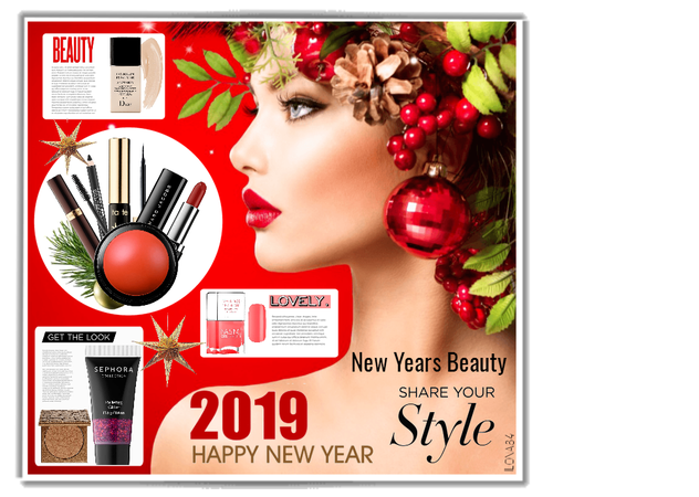 New Years Beauty