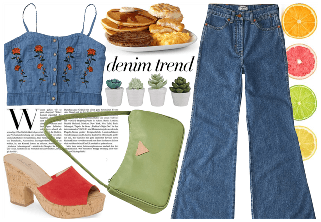 Jeans & a cute Top - 2000's fashion
