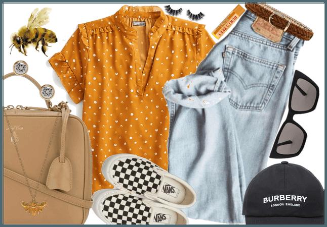 Sunshine Smiles: Polka Dot Shirts