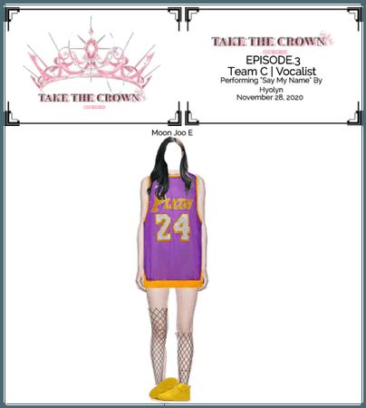 """Take The Crown"" Ep.3[Team C][Vocalist] Moon Joo E"