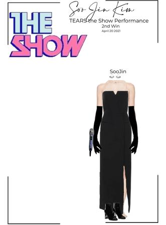 SooJin Kim{수진}The Show TEARS Performance