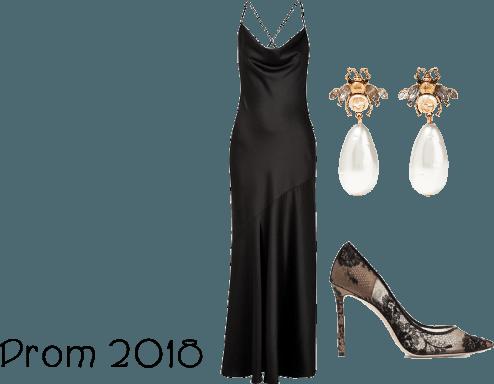 Simple Prom Look