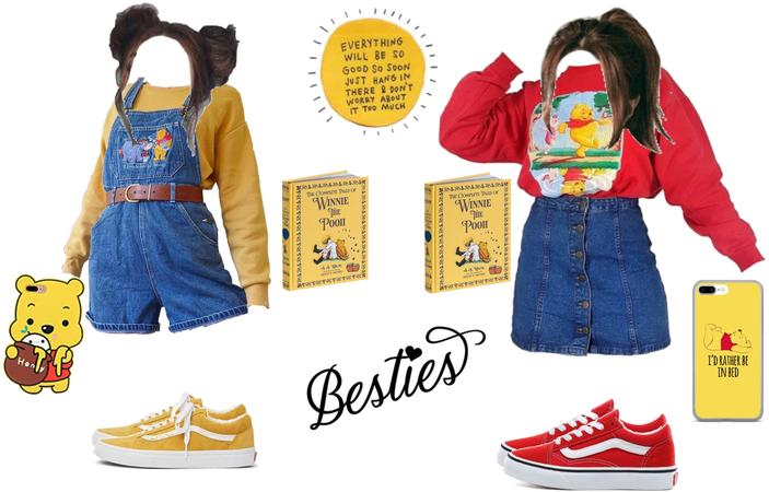 Winnie the Pooh besties