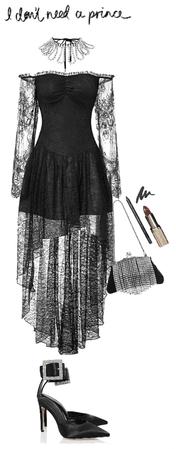black   lace style