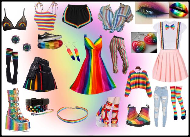 Rainbow core