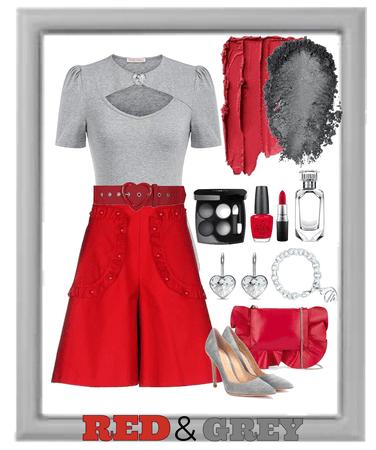 Red & Grey Challenge