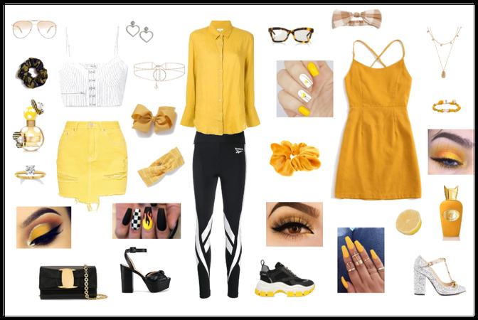 Yellow Summer Lookbook