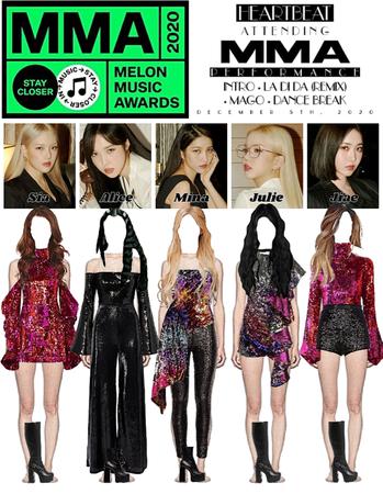 [HEARTBEAT] 2020 MELON MUSIC AWARDS | INTRO + 'LA DI DA (REMIX) + 'MAGO' + DANCE BREAK