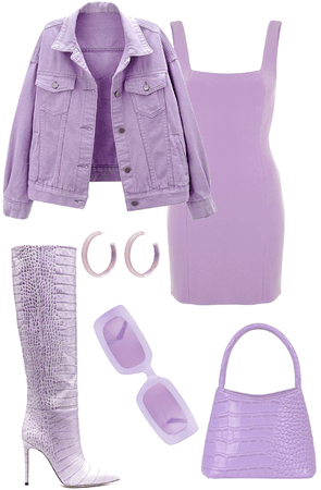Purple Monochrome