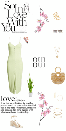 tropical spring/summer dress