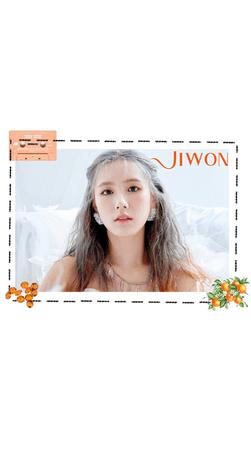 Jiwon 'I TRUST' Angel Concept