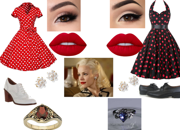 vampire diaries 50s outfits