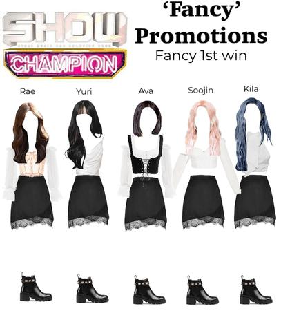 Show Champion, 'Fancy' 1st win