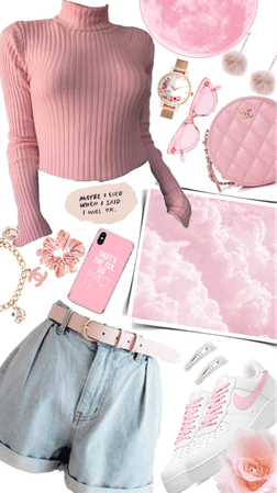 Light pink outfit💗🌸🎀