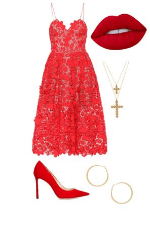 Liliana Alvarez— Prom Outfit